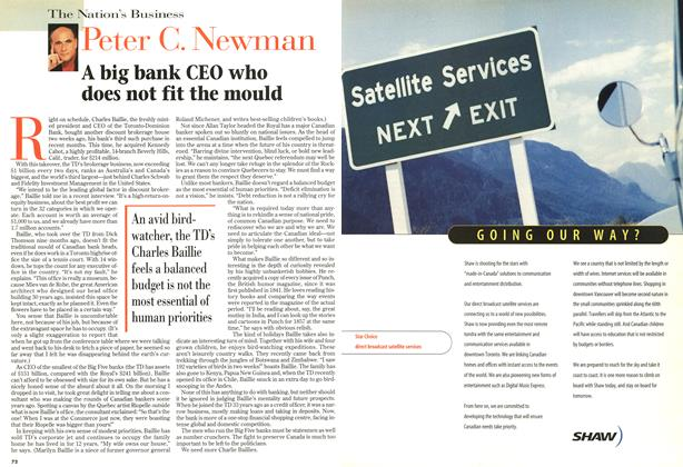 Article Preview: A big bank CEO who does not fit the mould, October 1997 | Maclean's