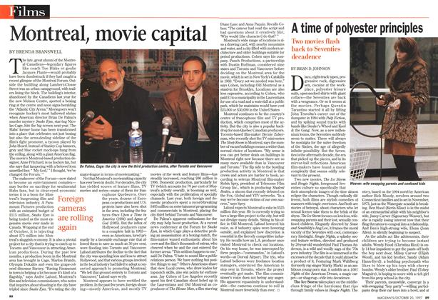 Article Preview: Montreal, movie capital, October 1997 | Maclean's