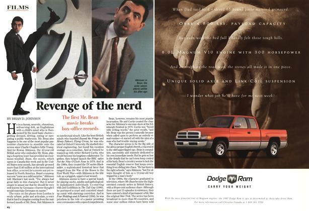 Article Preview: Revenge of the nerd, October 1997 | Maclean's