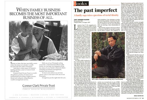 Article Preview: The past imperfect, October 1997 | Maclean's