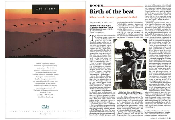 Article Preview: Birth of the beat, October 1997 | Maclean's