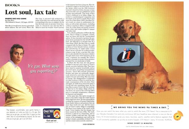 Article Preview: Lost soul, lax tale, October 1997 | Maclean's