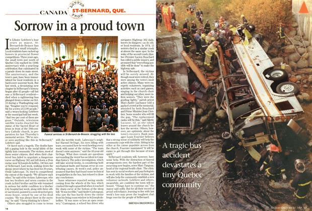 Article Preview: Sorrow in a proud town, October 1997 | Maclean's