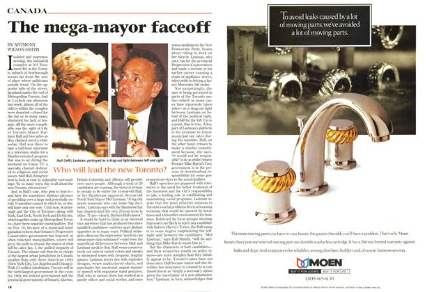 Article Preview: The mega-mayor faceoff, October 1997 | Maclean's