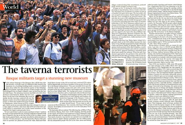 Article Preview: The taverna terrorists, October 1997 | Maclean's