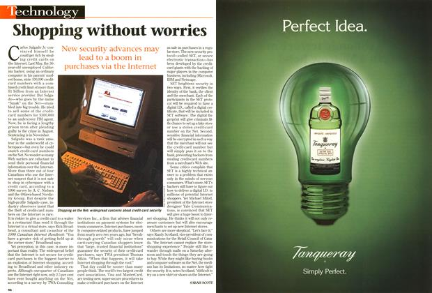 Article Preview: Shopping without worries, October 1997 | Maclean's