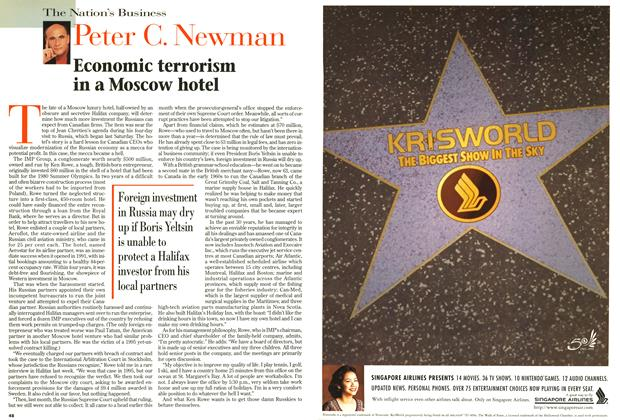Article Preview: Economic terrorism in a Moscow hotel, October 1997 | Maclean's