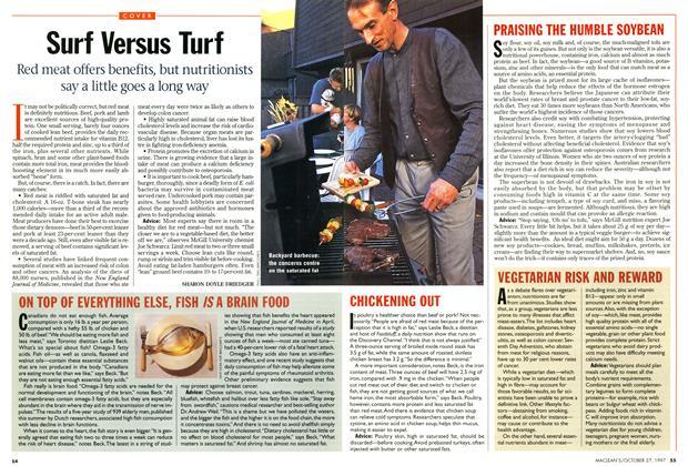 Article Preview: Surf Versus Turf, October 1997 | Maclean's