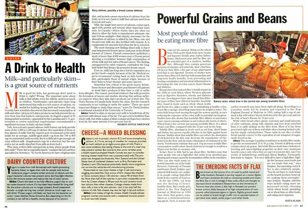 Article Preview: Powerful Grains and Beans, October 1997 | Maclean's