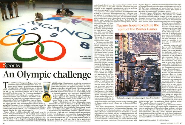 Article Preview: An Olympic challenge, October 1997 | Maclean's
