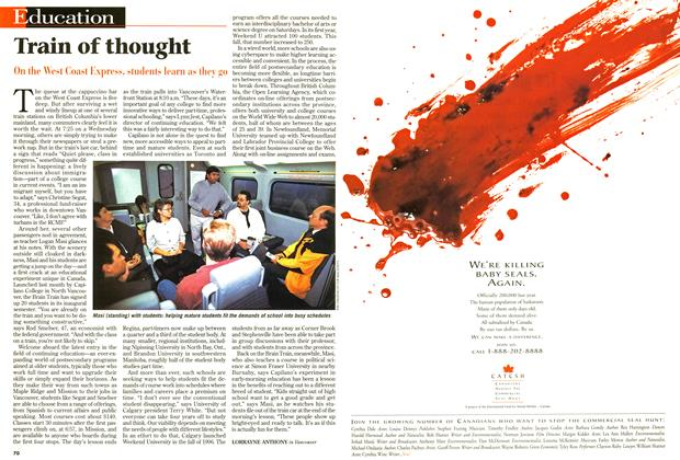 Article Preview: Train of thought, October 1997 | Maclean's