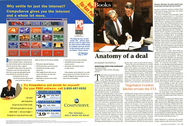 Article Preview: Anatomy of a deal, October 1997 | Maclean's