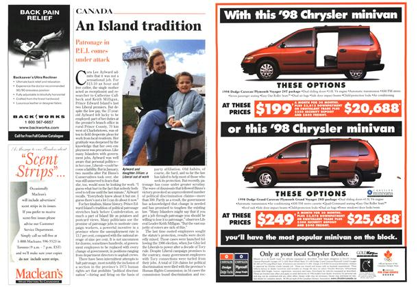 Article Preview: An Island tradition, November 1997 | Maclean's