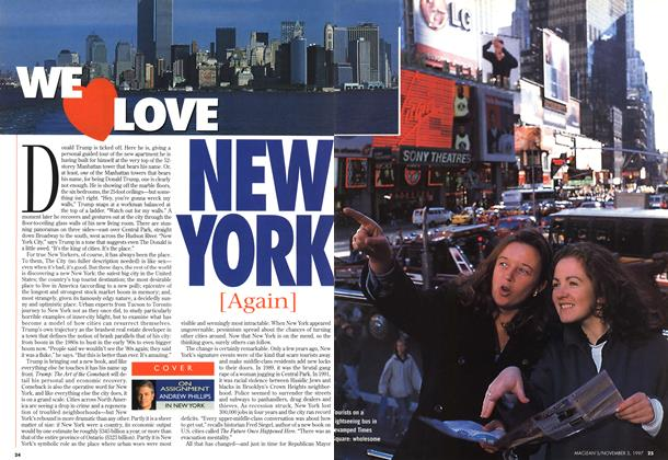 Article Preview: WE LOVE NEW YORK [AGAIN], November 1997 | Maclean's
