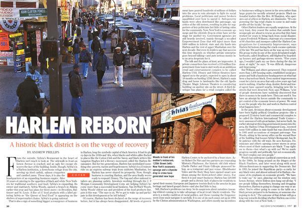 Article Preview: HARLEM REBORN, November 1997 | Maclean's