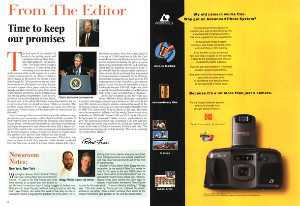 Article Preview: Time to keep our promises, November 1997 | Maclean's