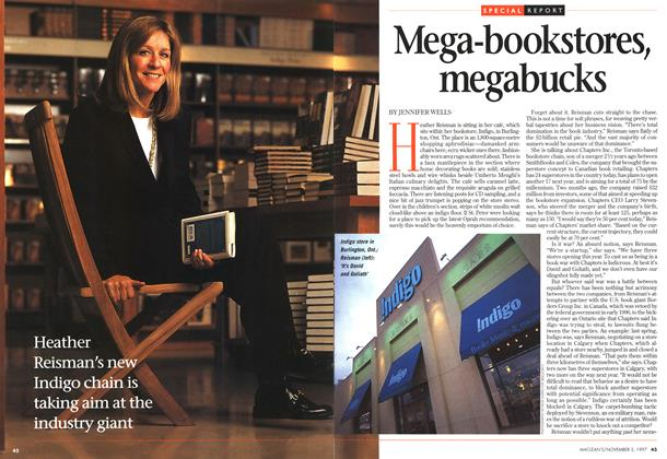 Article Preview: Mega-bookstores, megabucks, November 1997 | Maclean's