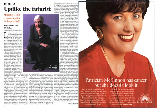 Article Preview: Updike the futurist, November 1997 | Maclean's
