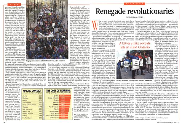 Article Preview: Renegade revolutionaries, November 1997 | Maclean's