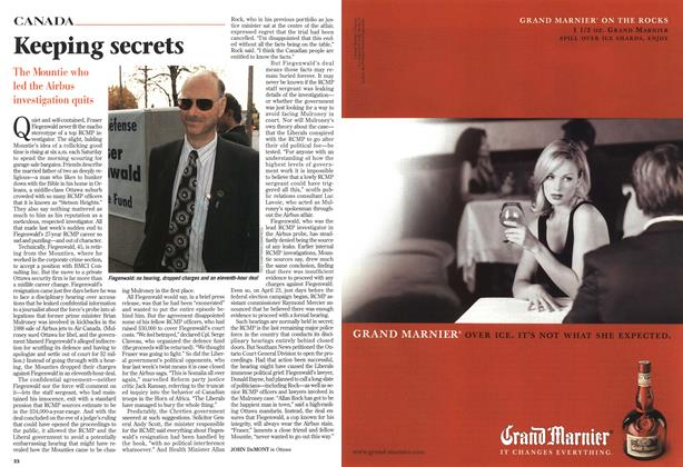 Article Preview: Keeping secrets, November 1997 | Maclean's