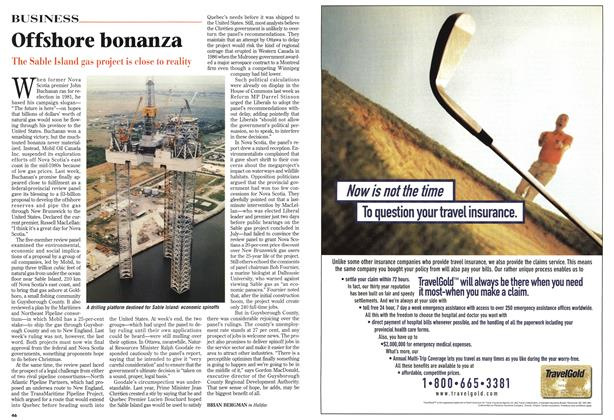 Article Preview: Offshore bonanza, November 1997 | Maclean's