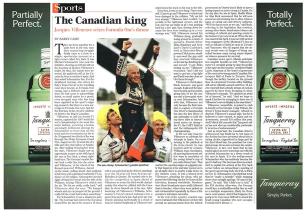 Article Preview: The Canadian king, November 1997 | Maclean's