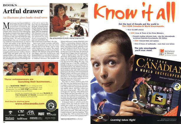 Article Preview: Artful drawer, November 1997 | Maclean's