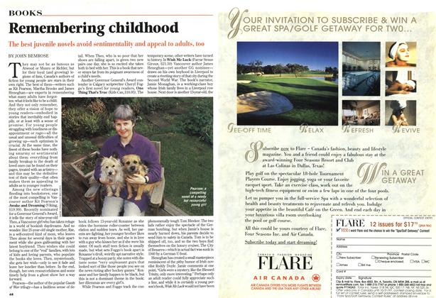 Article Preview: Remembering childhood, November 1997 | Maclean's