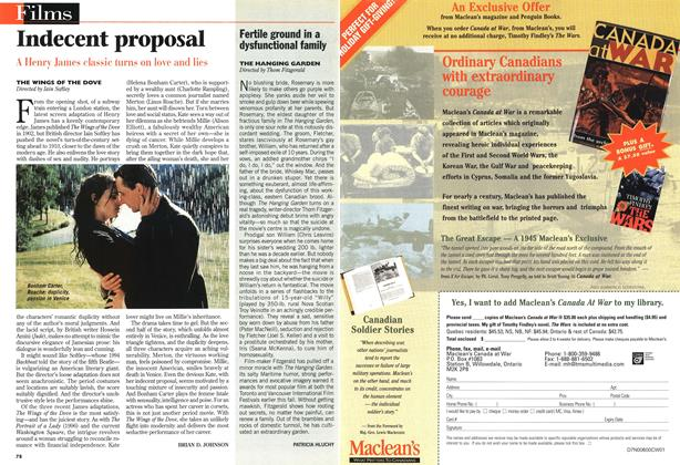 Article Preview: Indecent proposal, November 1997 | Maclean's