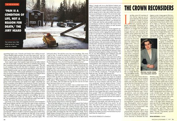 Article Preview: THE CROWN RECONSIDERS, November 1997 | Maclean's