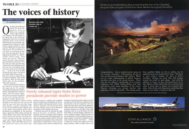 Article Preview: The voices of history, November 1997 | Maclean's