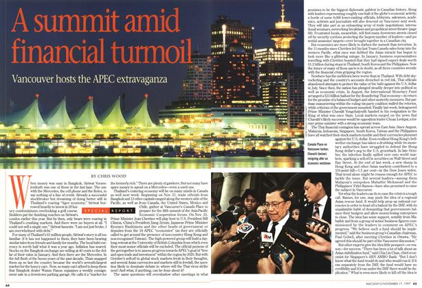 Article Preview: A summit amid financial turmoil, November 1997 | Maclean's
