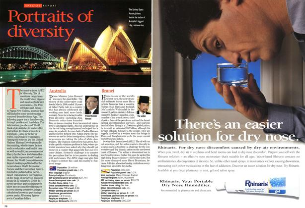 Article Preview: Portraits of diversity, November 1997 | Maclean's