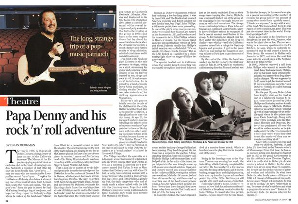 Article Preview: Papa Denny and his rock 'n' roll adventure, November 1997 | Maclean's