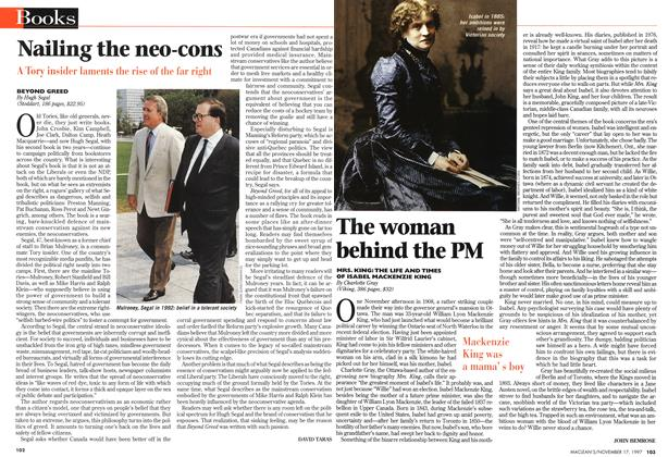 Article Preview: The woman behind the PM, November 1997 | Maclean's