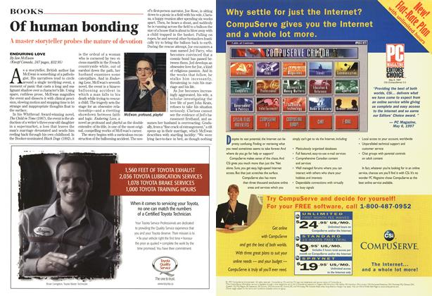 Article Preview: Of human bonding, November 1997 | Maclean's