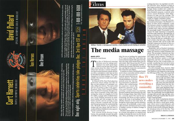 Article Preview: The media massage, November 1997 | Maclean's