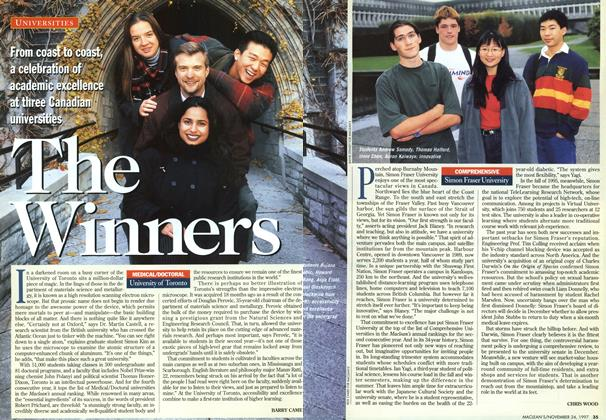 Article Preview: The Winners, November 1997 | Maclean's