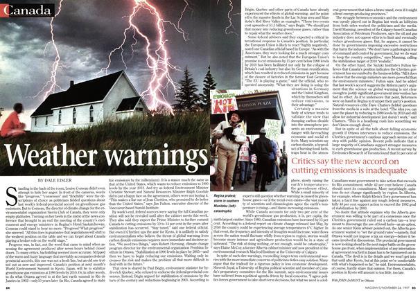 Article Preview: Weather warnings, November 1997 | Maclean's