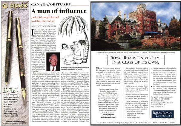 Article Preview: A man of influence, November 1997 | Maclean's