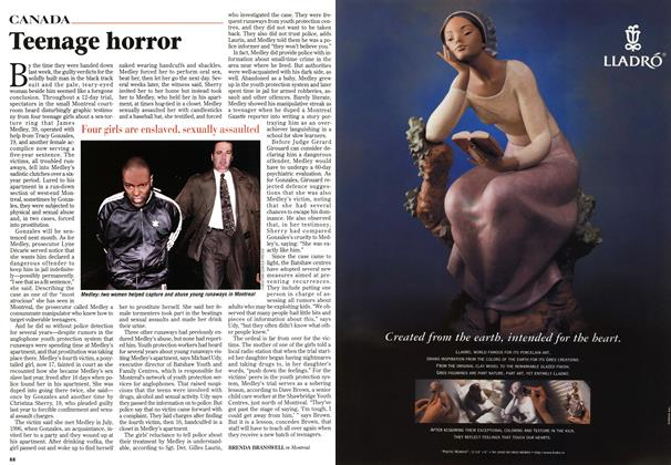 Article Preview: Teenage horror, November 1997 | Maclean's