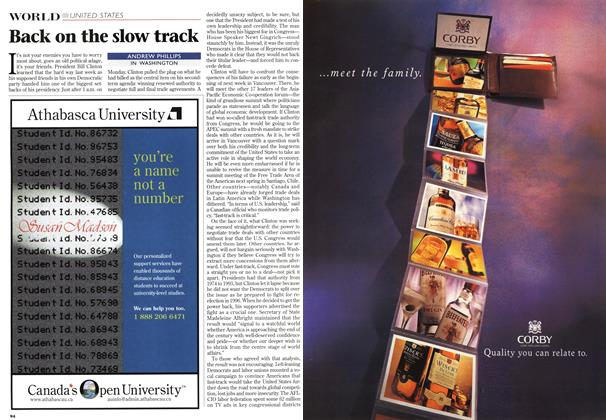 Article Preview: Back on the slow track, November 1997 | Maclean's