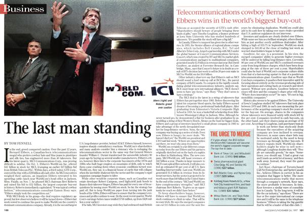 Article Preview: The last man standing, November 1997 | Maclean's