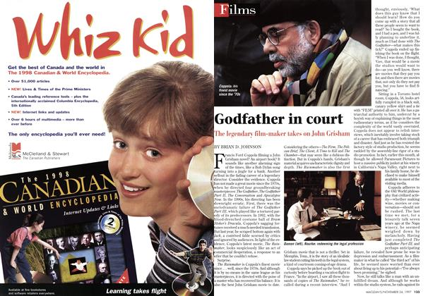 Article Preview: Godfather in court, November 1997 | Maclean's