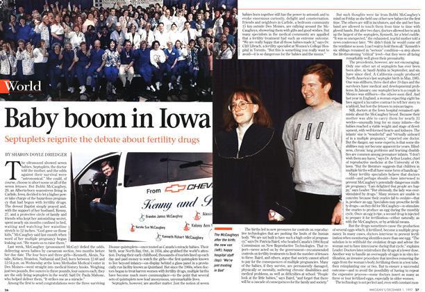 Article Preview: Baby boom in Iowa, December 1997 | Maclean's