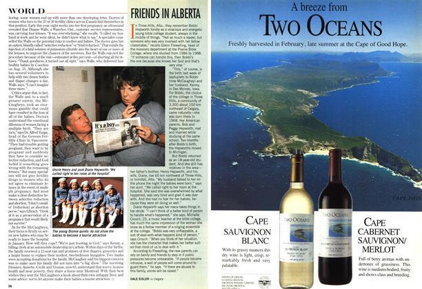 Article Preview: FRIENDS IN ALBERTA, December 1997   Maclean's