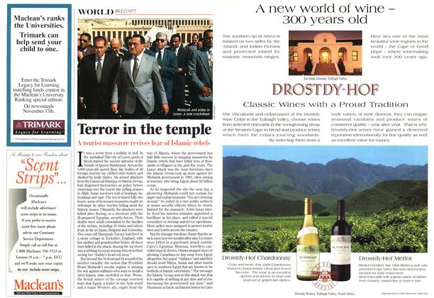 Article Preview: Terror in the temple, December 1997 | Maclean's