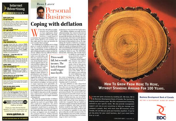 Article Preview: Coping with deflation, December 1997 | Maclean's