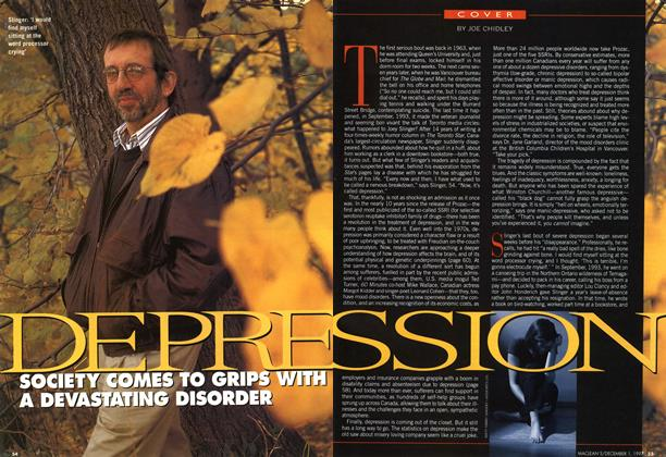 Article Preview: DEPRESSION, December 1997 | Maclean's
