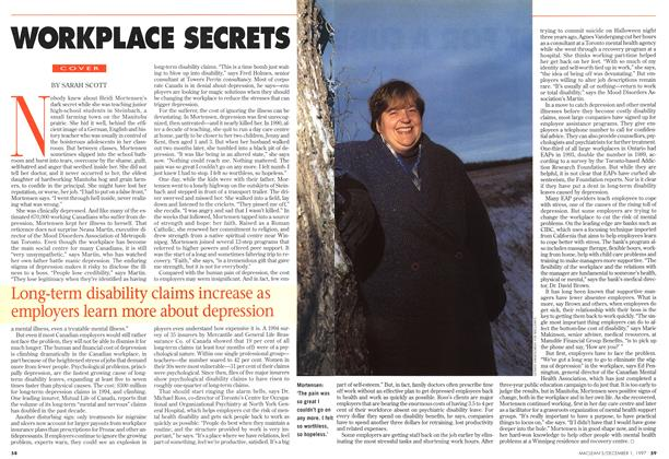 Article Preview: WORKPLACE SECRETS, December 1997 | Maclean's